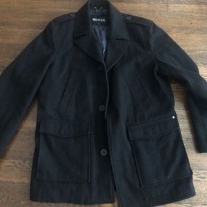 Guess Pea coat- Men's extremely warm!